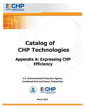 Primary view of object titled 'Catalog of CHP Technologies'.