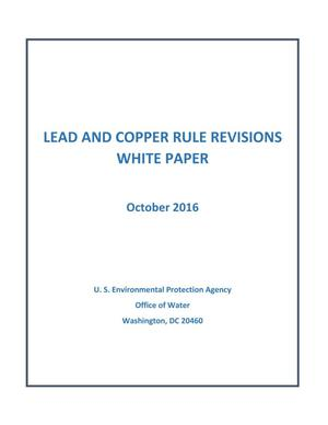 Primary view of object titled 'Lead and Copper Rule Revision White Paper'.
