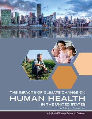 Primary view of object titled 'The Impacts of Climate Change on Human Health in the United States : a Scientific Assessment'.