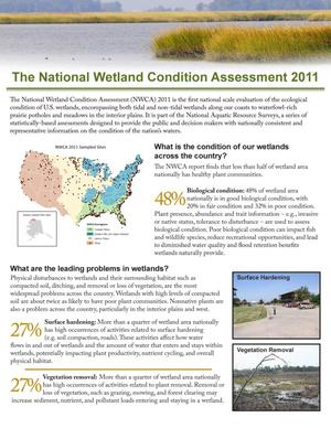 Primary view of object titled 'The National Wetland Condition Assessment 2011'.