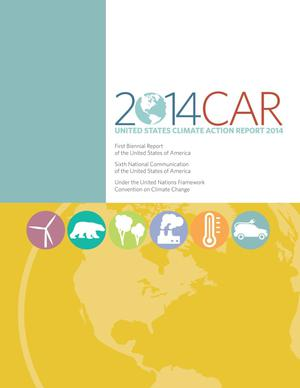 Primary view of object titled 'United States Climate Action Report 2014'.