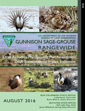 Primary view of object titled 'Gunnison Sage-Grouse Rangewide'.