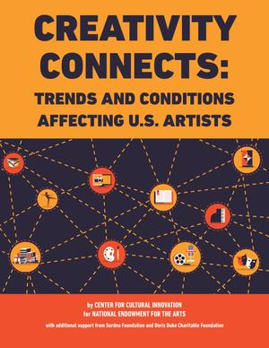 Primary view of object titled 'Creativity Connects: Trends and Conditions Affecting U.S. Artists'.
