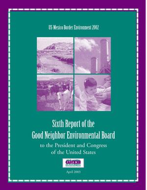 Primary view of object titled 'Good Neighbor Environmental Board Annual Report: 2003'.