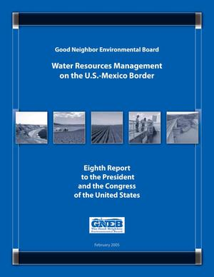 Primary view of object titled 'Good Neighbor Environmental Board Annual Report: 2005'.