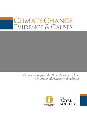 Primary view of object titled 'Climate Change Evidence & Causes'.