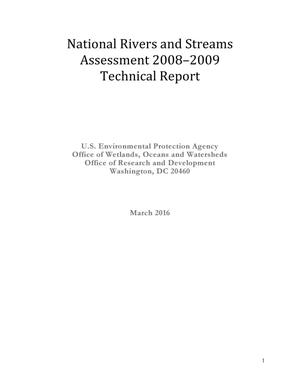 Primary view of object titled 'National Rivers and Streams Assessment 2008-2009 Technical Report'.