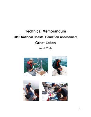 Primary view of object titled 'Technical Memorandum: 2010 National Coastal Condition Assessment: Great Lakes'.