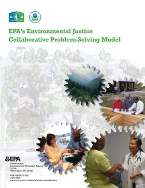 Primary view of object titled 'EPA's Environmental Justice Collaborative Problem-Solving Model'.
