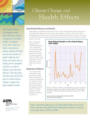 Primary view of object titled 'Climate Change and Health Effects'.