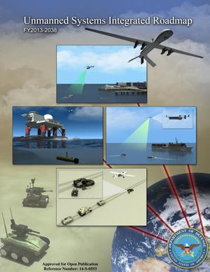 Primary view of object titled 'Unmanned Systems Integrated Roadmap'.