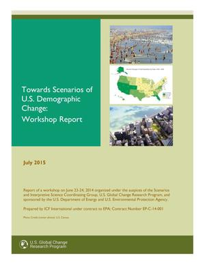 Primary view of object titled 'Towards Scenarios of U.S. Demographic Change: Workshop Report'.