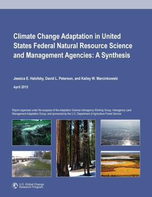 Primary view of object titled 'Climate Change Adaptation in United States Federal Natural Resource Science and Management Agencies: A Synthesis'.