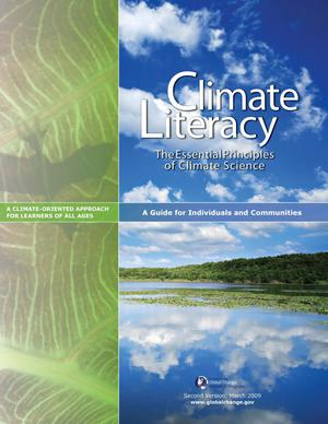 Primary view of object titled 'Climate Literacy: The Essential Principles of Climate Science'.