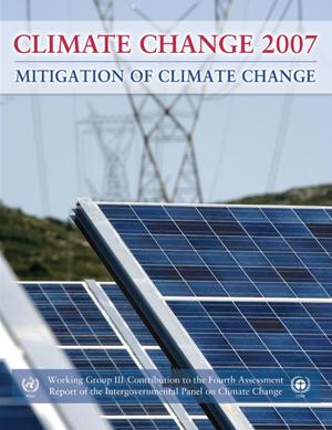 Primary view of object titled 'Climate Change 2007: Mitigation of Climate Change'.