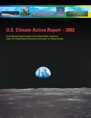 Primary view of object titled 'U.S. Climate Action Report 2002'.