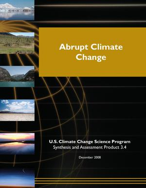 Primary view of object titled 'Abrupt Climate Change'.