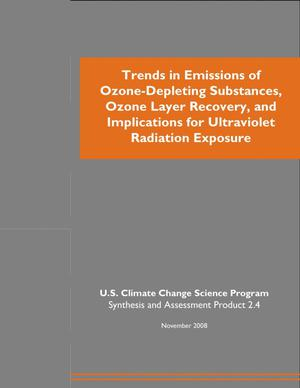 Primary view of object titled 'Trends in Emissions of Ozone-Depleting Substances, Ozone Layer Recovery, and Implications for Ultraviolet Radiation Exposure'.