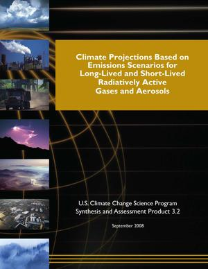 Primary view of object titled 'Climate Projections Based on Emissions Scenarios for Long-Lived and Short-Lived Radiatively Active Gases and Aerosols'.
