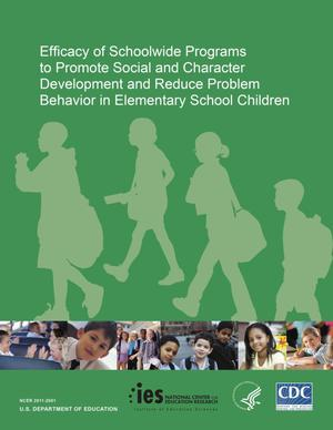 Primary view of object titled 'Efficacy of Schoolwide Programs to promote Social and Character Development and Reduce Problem Behavior in Elementary School Children'.