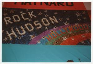 Primary view of object titled '[AIDS Memorial Quilt Panel for Rock Hudson]'.