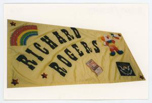 Primary view of object titled '[AIDS Memorial Quilt Panel for Richard Rogers]'.