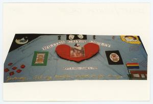 Primary view of object titled '[AIDS Memorial Quilt Panel for William Calvin Lindley]'.