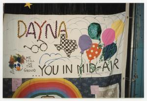 Primary view of object titled '[AIDS Memorial Quilt Panel for Dayna]'.