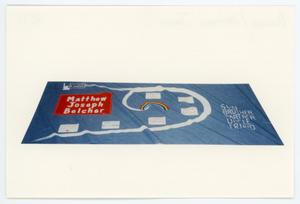 Primary view of object titled '[AIDS Memorial Quilt Panel for Matthew Joseph Belcher]'.