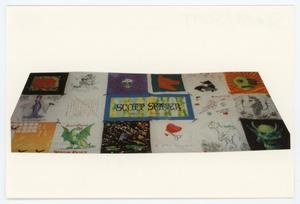 Primary view of object titled '[AIDS Memorial Quilt Panel for Scott Seaver]'.