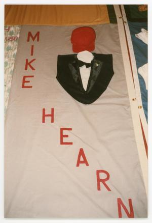 Primary view of object titled '[AIDS Memorial Quilt Panel for Mike Hearn]'.