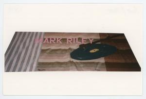 Primary view of object titled '[AIDS Memorial Quilt Panel for Mark Riley]'.