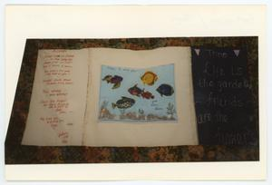 Primary view of object titled '[AIDS Memorial Quilt Panel for Trino Gutierrez]'.
