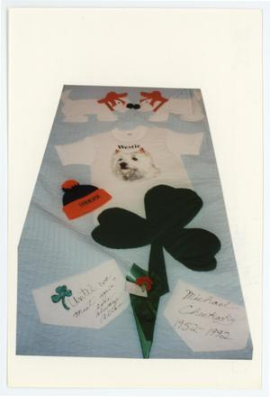 Primary view of object titled '[AIDS Memorial Quilt Panel for Michael Checkosky]'.