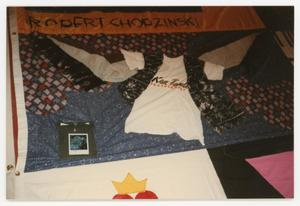 Primary view of object titled '[Quilt Panel for Robert Chopzinski]'.