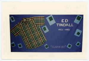 Primary view of object titled '[AIDS Memorial Quilt Panel for Ed Tindall]'.