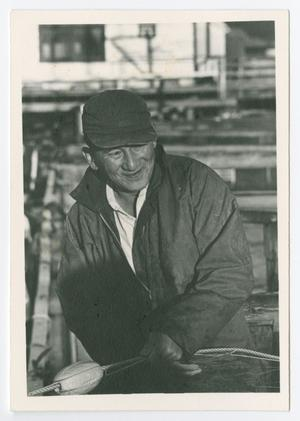 Primary view of object titled '[Unidentified Fisherman]'.