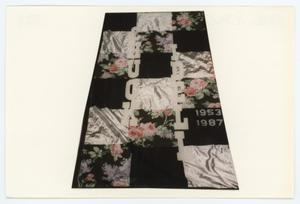 Primary view of object titled '[AIDS Memorial Quilt Panel for Chuck Idell]'.