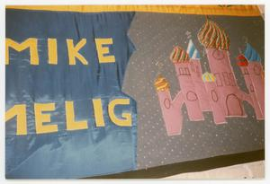 Primary view of object titled '[Quilt Panel Dedicated to Mike Melig]'.