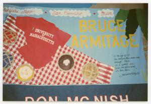 Primary view of object titled '[AIDS Memorial Quilt Panel for Bruce Armitage]'.