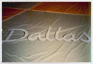 Primary view of object titled '[Dallas Panel on AIDS Memorial Quilt]'.