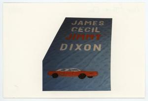 Primary view of object titled '[AIDS Memorial Quilt Panel for James Cecil Dixon ]'.