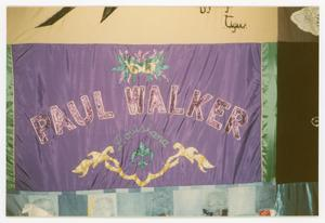 Primary view of object titled '[Quilt Panel for Paul Walker]'.