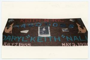 "Primary view of object titled '[AIDS Memorial Quilt Panel for Daryl ""Keith"" Nall]'."