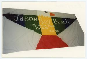 Primary view of object titled '[AIDS Memorial Quilt Panel for Jason Beach]'.