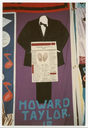 Primary view of [Quilt Panel for Harold Taylor Jr.]