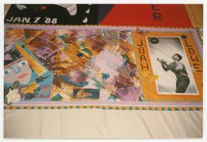 Primary view of object titled '[AIDS Memorial Quilt on Display at the Names Project Tour]'.