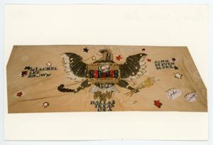 Primary view of object titled '[AIDS Memorial Quilt Panel for Michael Lee Brown]'.