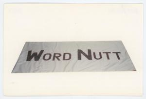 Primary view of object titled '[AIDS Memorial Quilt Panel for Word Nutt]'.