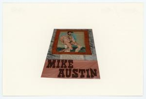 Primary view of object titled '[AIDS Memorial Quilt Panel for Mike Austin]'.